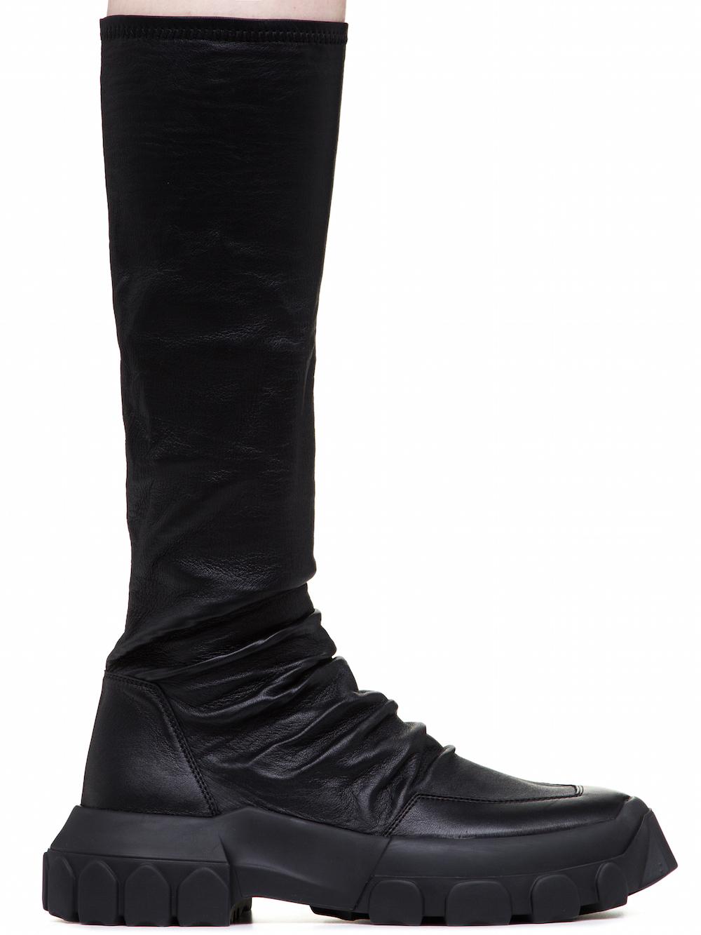 stretch hiking sock sneakers - Black Rick Owens k5B4d