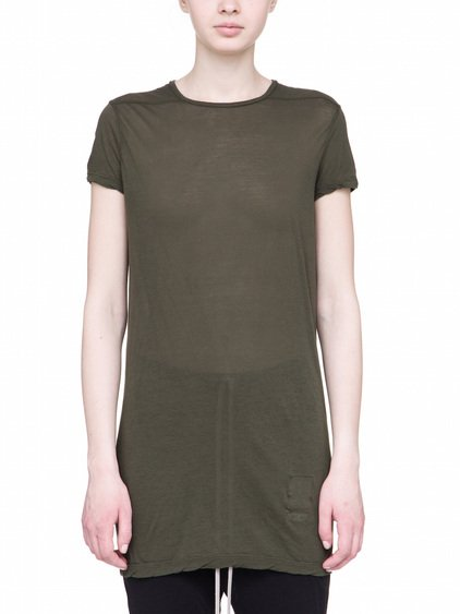 DRKSHDW LEVEL TEE IN FOREST GREEN LIGHT-WEIGHT COTTON