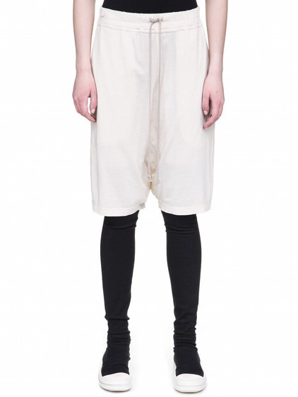 DRKSHDW PODS IN NATURAL WHITE COTTON JERSEY