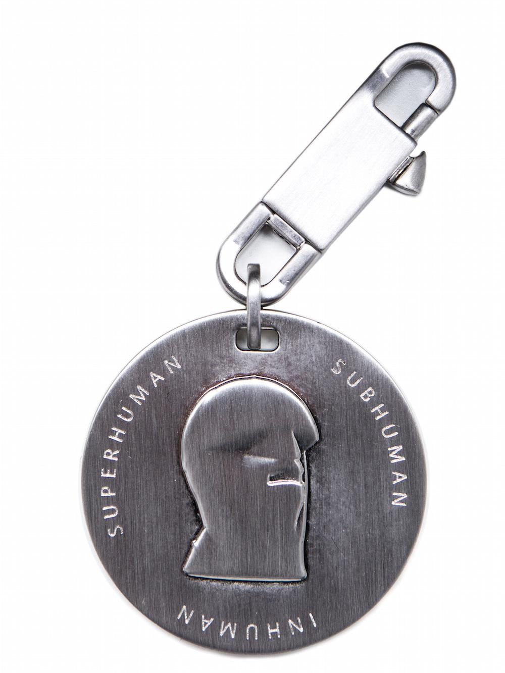 Rick Owens Mens Inhuman Mega Ribbon Key Chain EZA5Q4xt