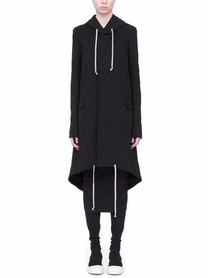 DRKSHDW FISHTAIL PARKA IN BLACK