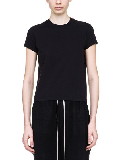 RICK OWENS SHORT LEVEL SHORT-SLEEVE TEE IN BLACK