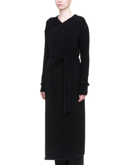 RICK OWENS BATHROBE IN BLACK