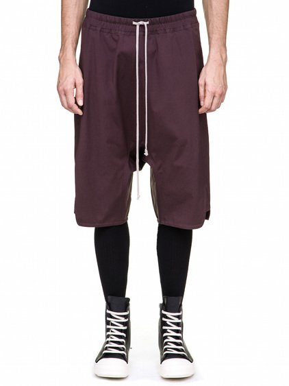 RICK OWENS BASKET SWINGERS IN PURPLE