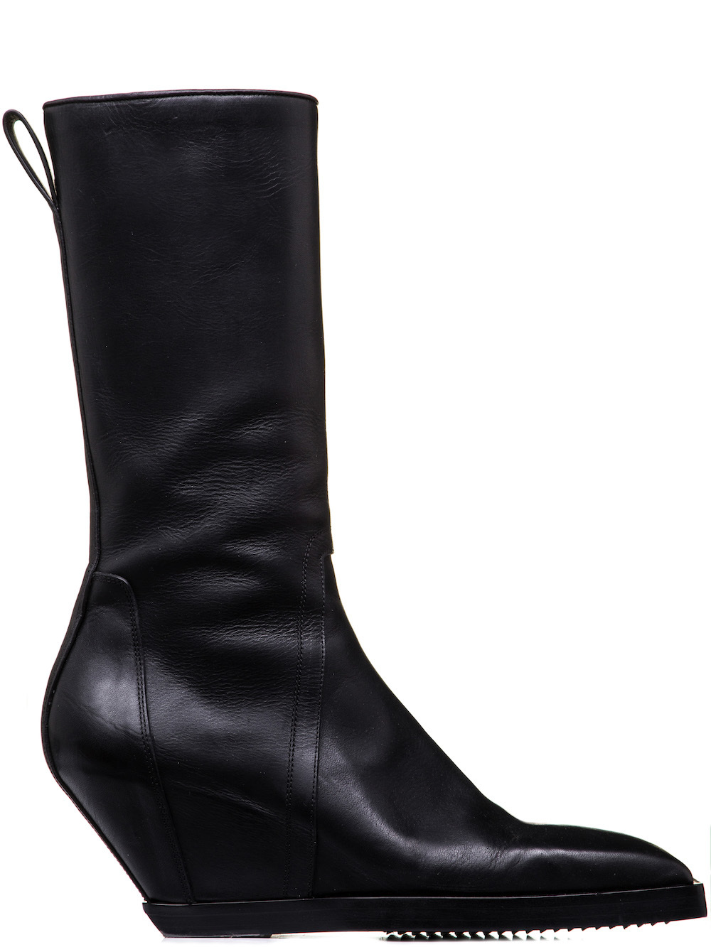 Rick Owens Black Square Toe Boots cheap sale shop offer yeKz32
