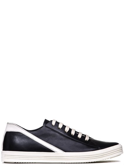 RICK OWENS GEOTHRASHER SNEAKERS IN BLACK BOSTON