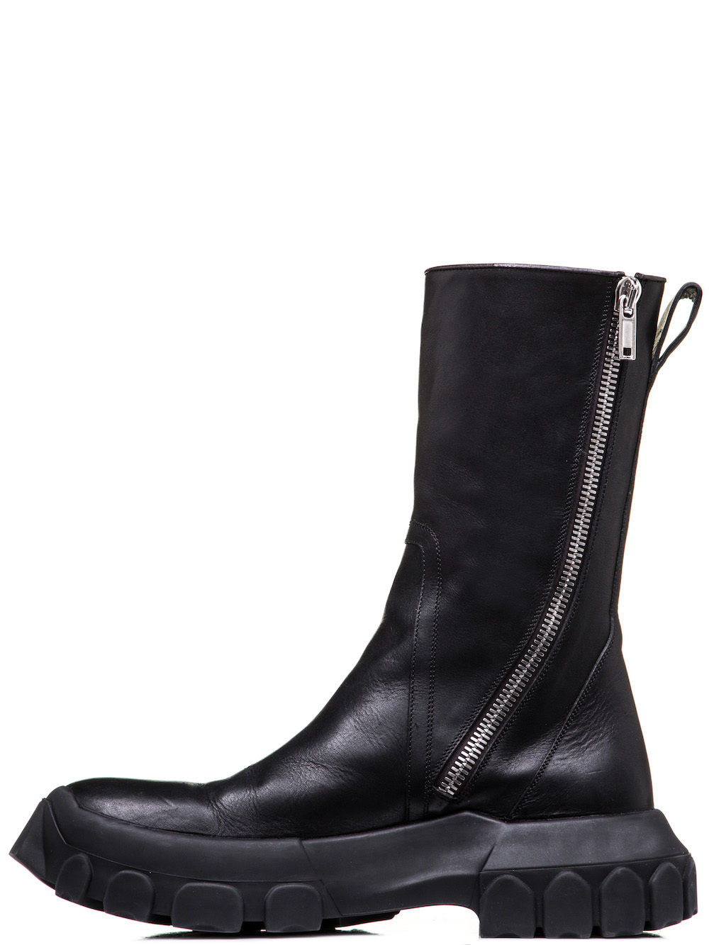 tractor zipped boots - Black Rick Owens dc3NSo