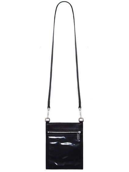 RICK OWENS SECURITY POUCH IN BLACK