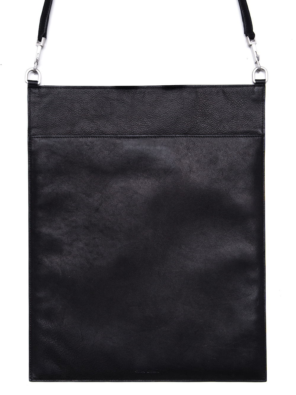RICK OWENS FW18 SISYPHUS SECURITY POUCH IN BLACK