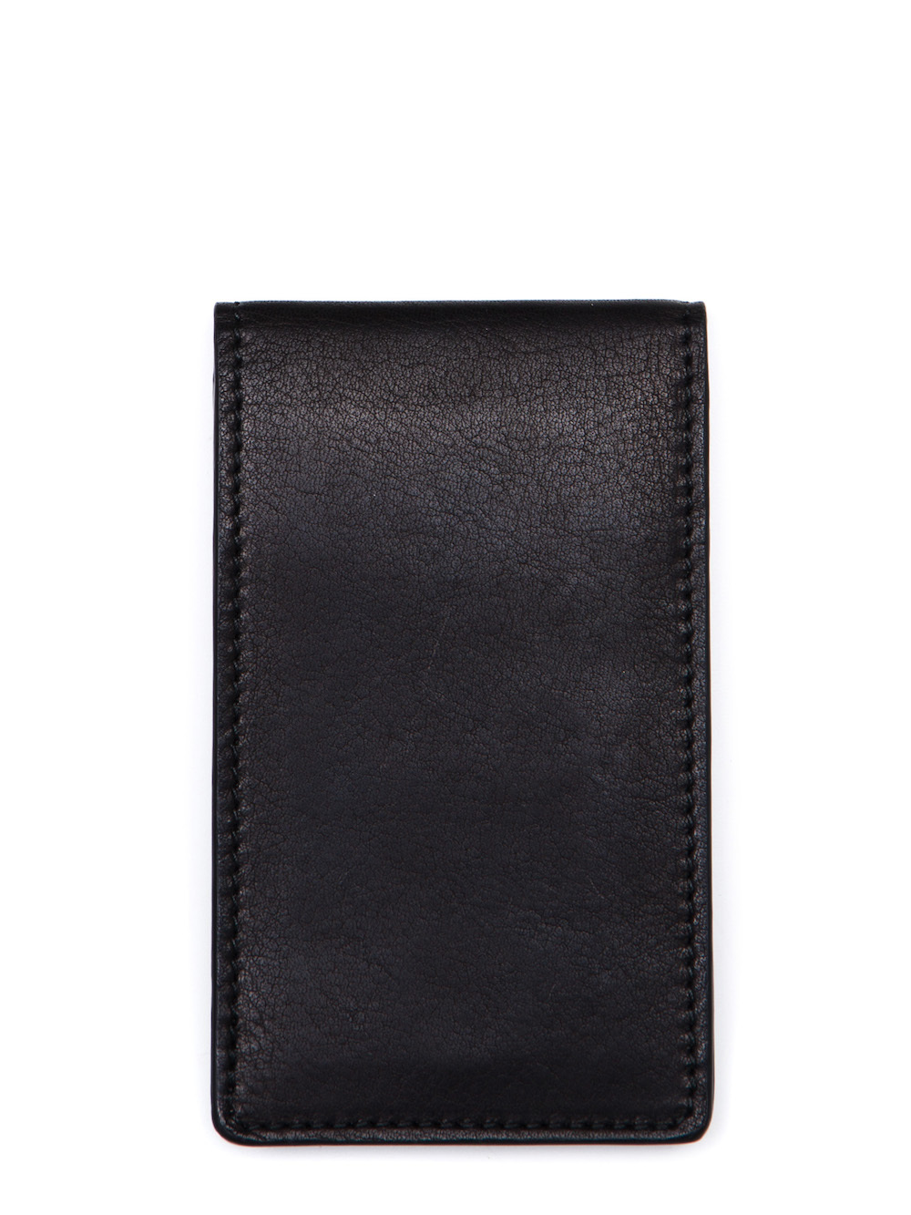 RICK OWENS BILLFOLD CREDIT CARD HOLDER IN BLACK