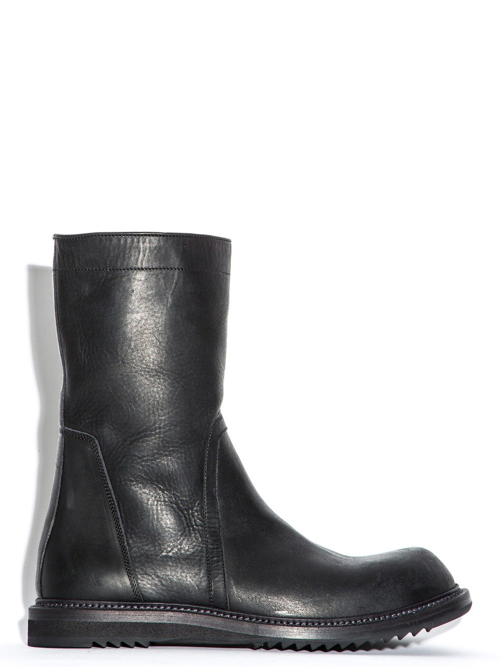 Rick Owens Leather boots B4iUcBKrG7