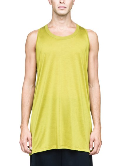 RICK OWENS RICK'S TANK IN ACID YELLOW