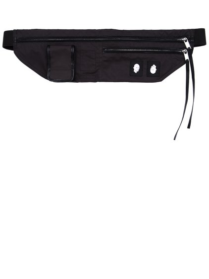 DRKSHDW BELT BAG IN BLACK IS A SMALL WAIST POUCH