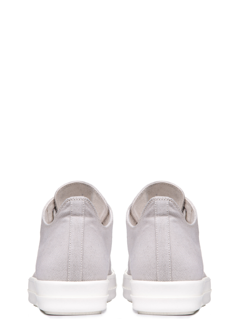 DRKSHDW LOW SNEAKERS IN PEARL BEIGE