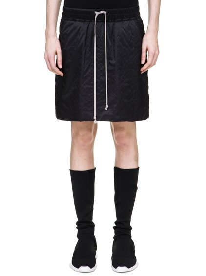 DRKSHDW FW18 SISYPHUS KILT SKIRT IN BLACK