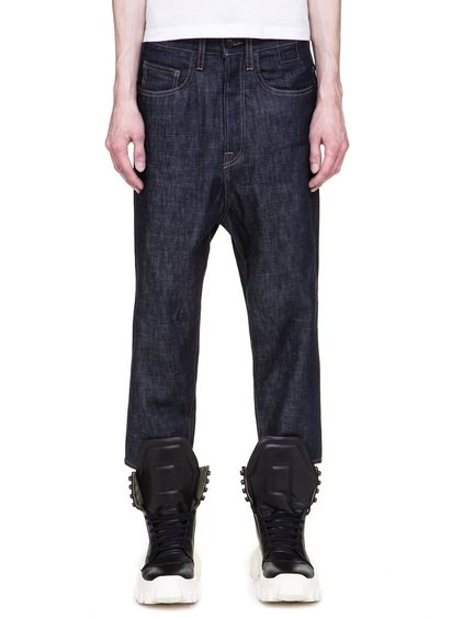 DRKSHDW L.A. DENIM CAPSULE COLLECTION COLLAPSE CUT JEANS