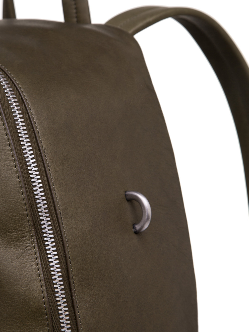 RICK OWENS BACKPACK IN DIRTY GREEN
