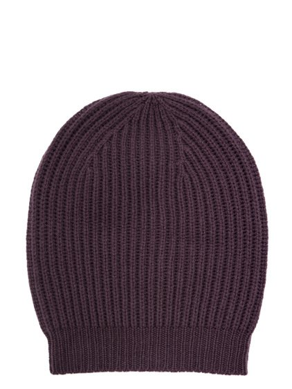 RICK OWENS FW18 SISYPHUS MEDIUM HAT IN RAISIN PURPLE