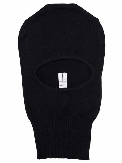 RICK OWENS SKULL IN BLACK NEW WOOL