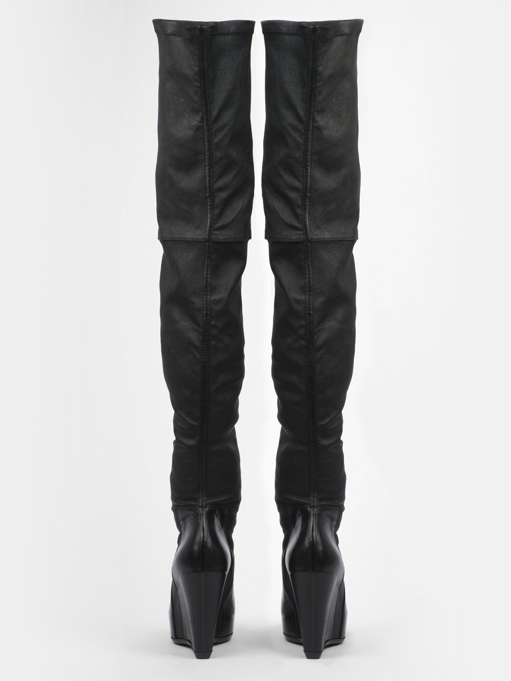 RICK OWENS - STRETCH PULL ON BOOTS
