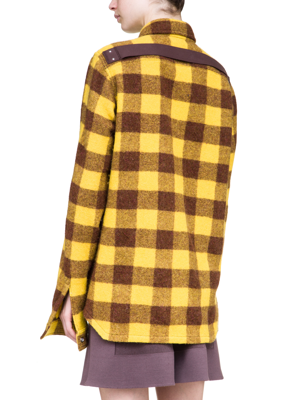 RICK OWENS FW18 SISYPHUS OFF-THE-RUNWAY OUTERSHIRT
