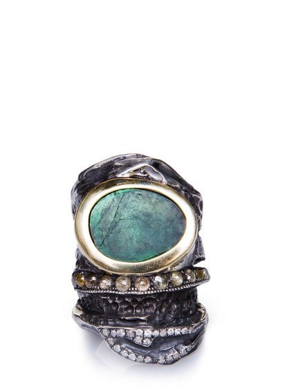 Green eye ring 2