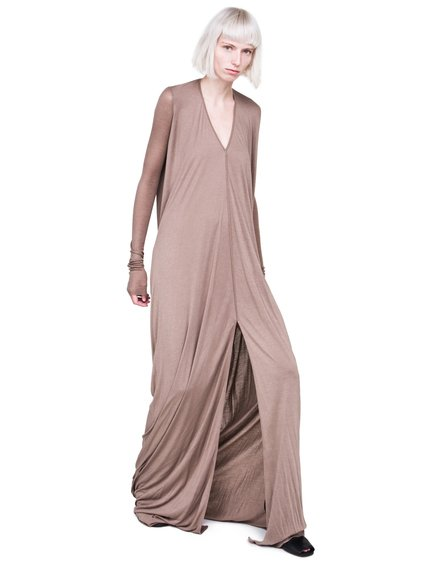 RICK OWENS LILIES FW18 SISYPHUS DRESS IN FLESH PINK