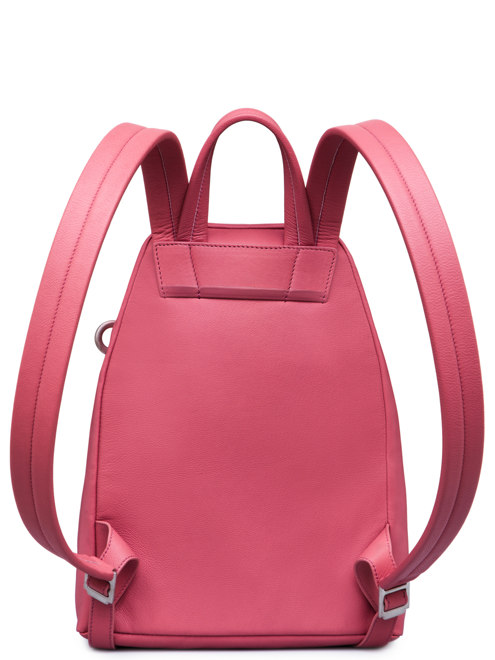 RICK OWENS FW18 SISYPHUS MINI BACKPACK IN PINK GOAT LEATHER