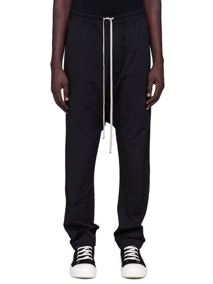 DRKSHDW FW18 SISYPHUS DRAWSTRING LONG PANTS IN BLACK