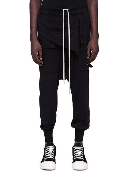 DRKSHDW FW18 SISYPHUS PRISONNER MEMPHIS PANTS IN BLACK