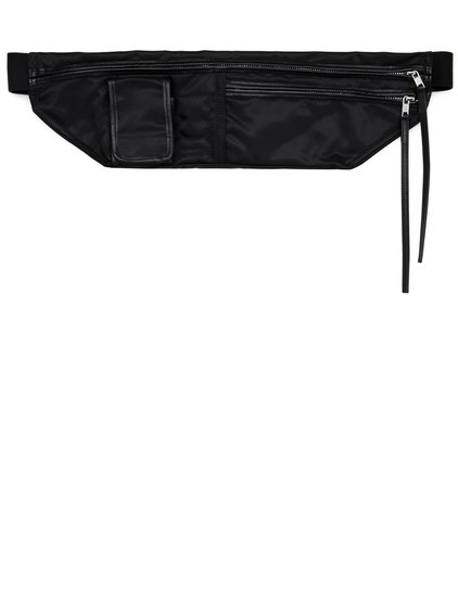 DRKSHDW FW18 SISYPHUS CLIP-ON POCKET BAG IN BLACK