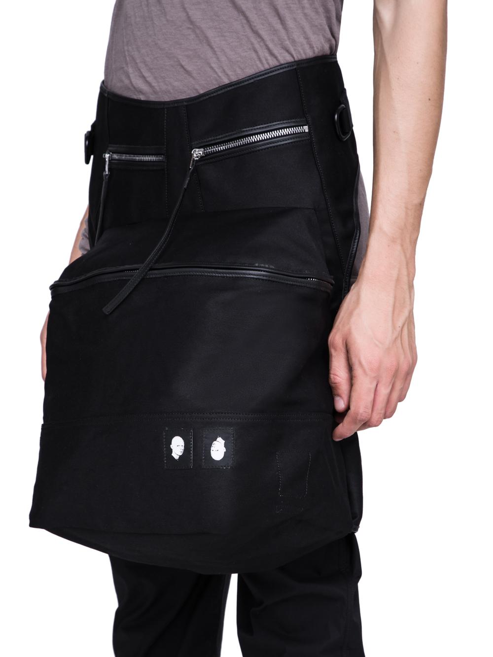 DRKSHDW FW18 SISYPHUS KANGAROO BAG IN BLACK