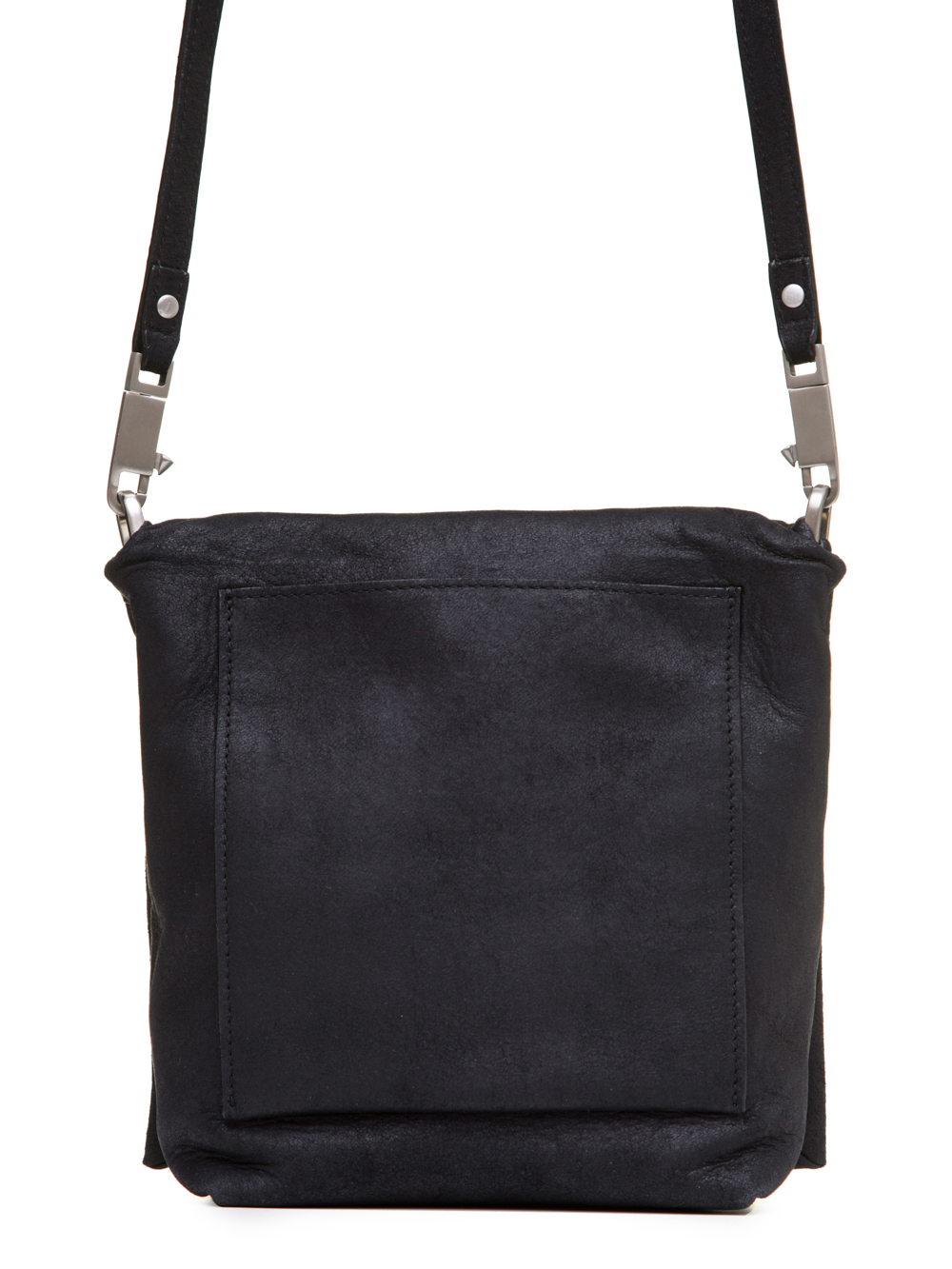 RICK OWENS SS19 BABEL SMALL FLAP ADRI BAG IN BLACK