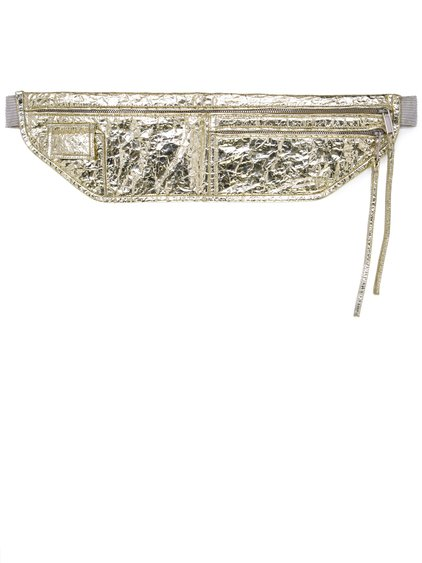 RICK OWENS SS19 BABEL MONEY BELT IN GOLD