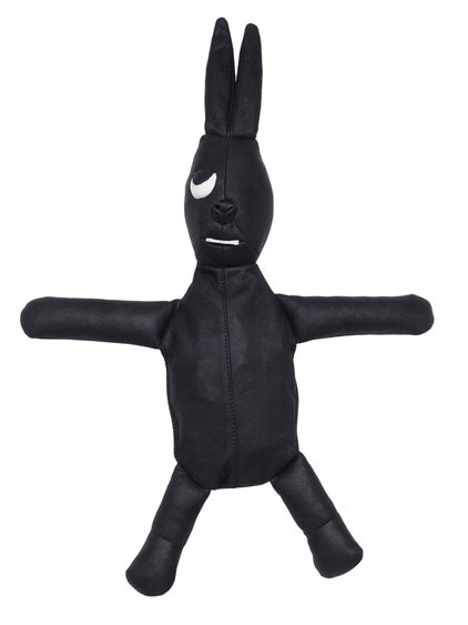 RICK OWENS HUN BUNNY IN BLACK