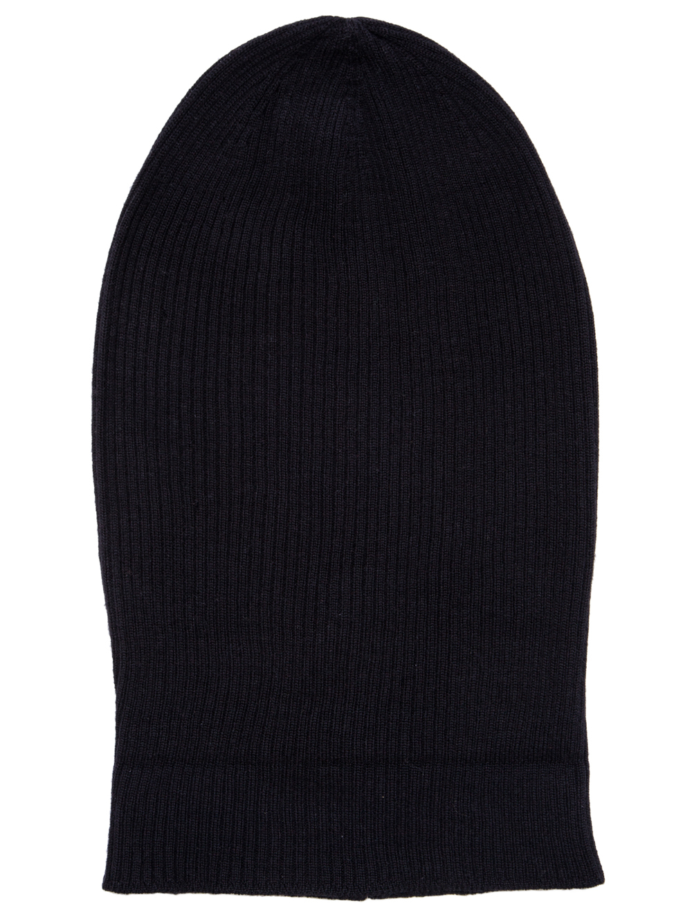 RICK OWENS SS19 BABEL MEDIUM HAT IN BLACK MERINO WOOL