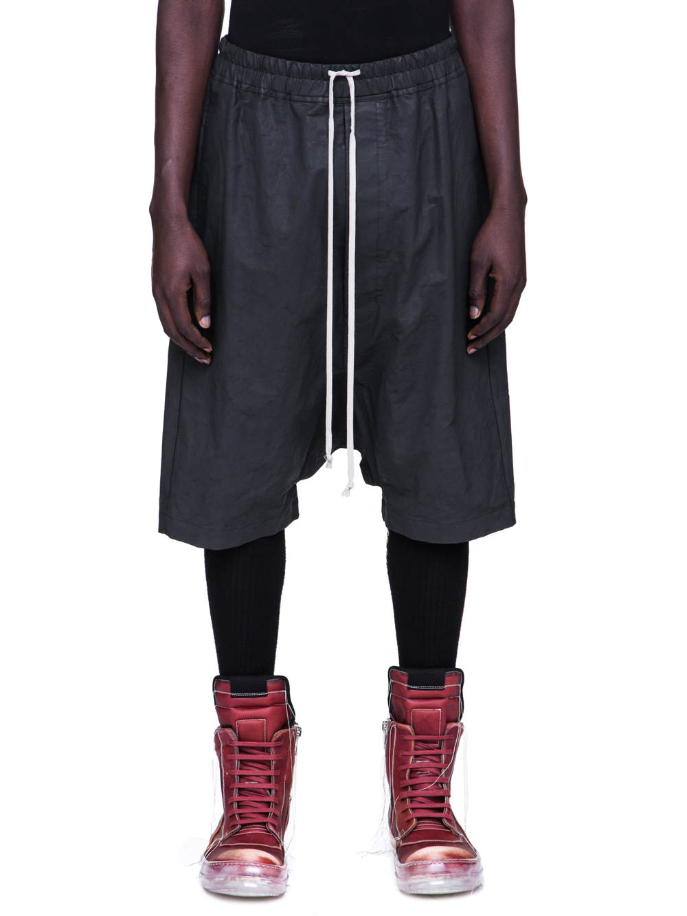 RICK OWENS SS19 BABEL RICK'S PODS IN BLACK