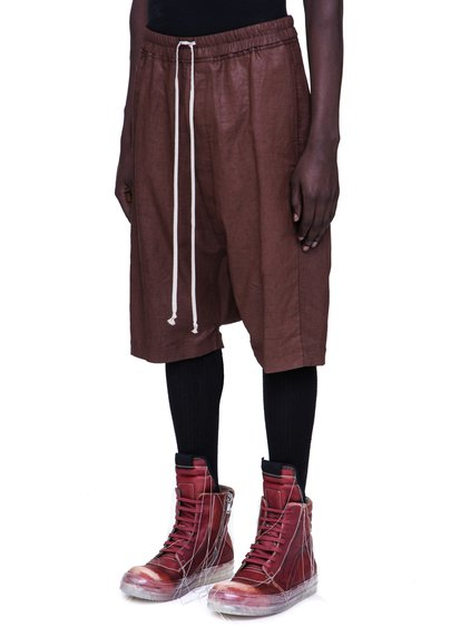 RICK OWENS SS19 BABEL RICK'S PODS IN BLOOD RED
