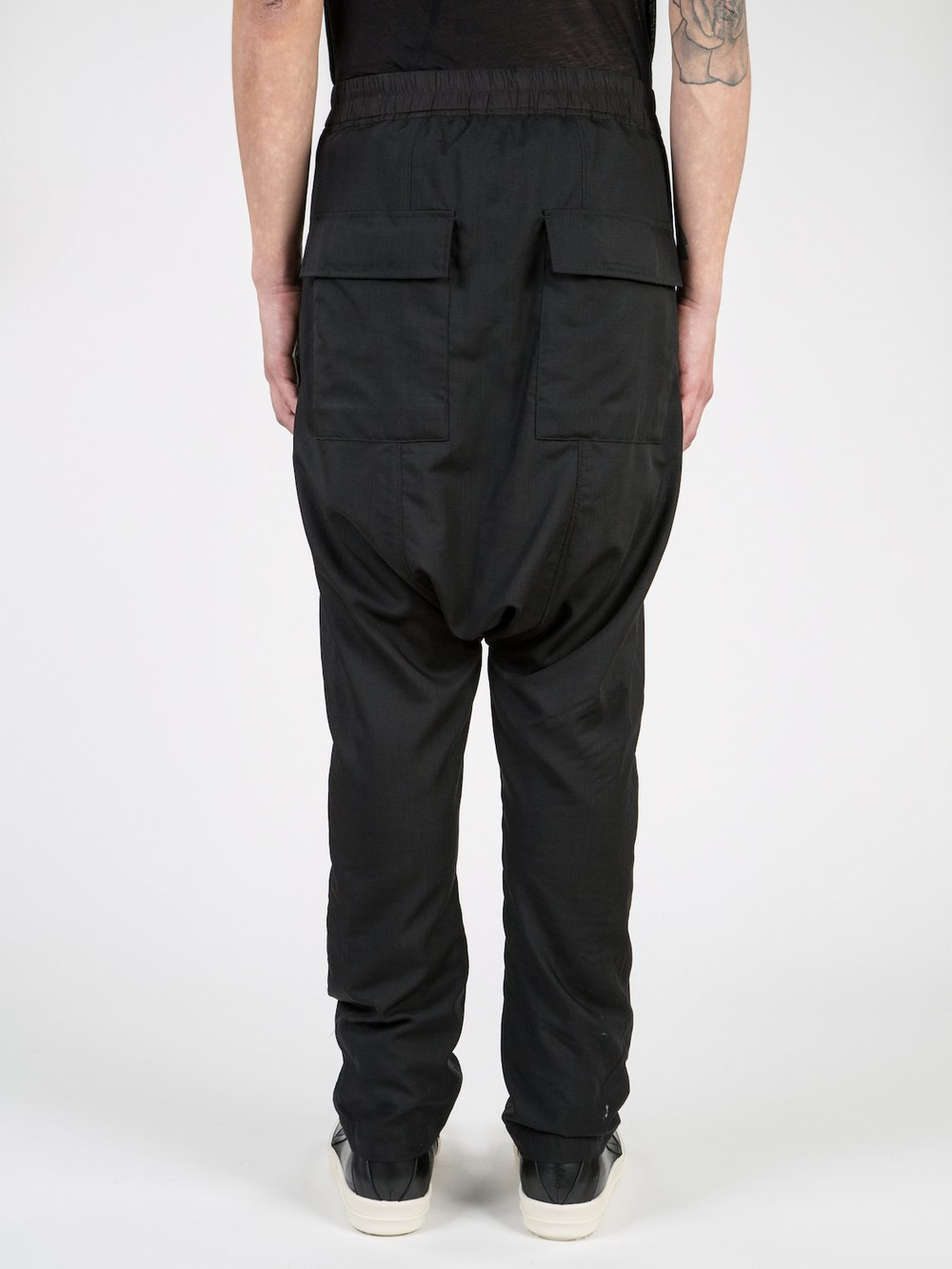 RICK OWENS - LOWERED DRAWSTRING SWINGER