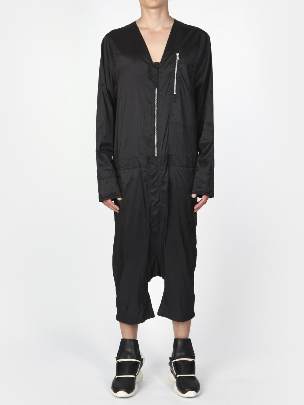 RICK OWENS - SHORT JUMPSUIT