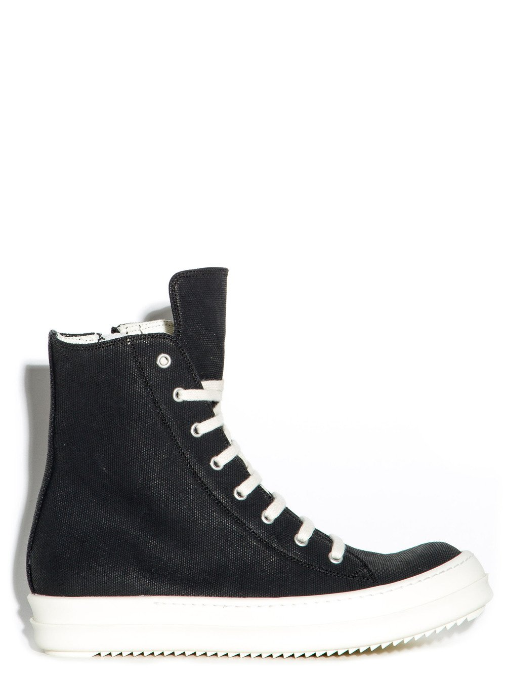 Sneakers for Women On Sale, Black, Canvas, 2017, 7.5 Rick Owens