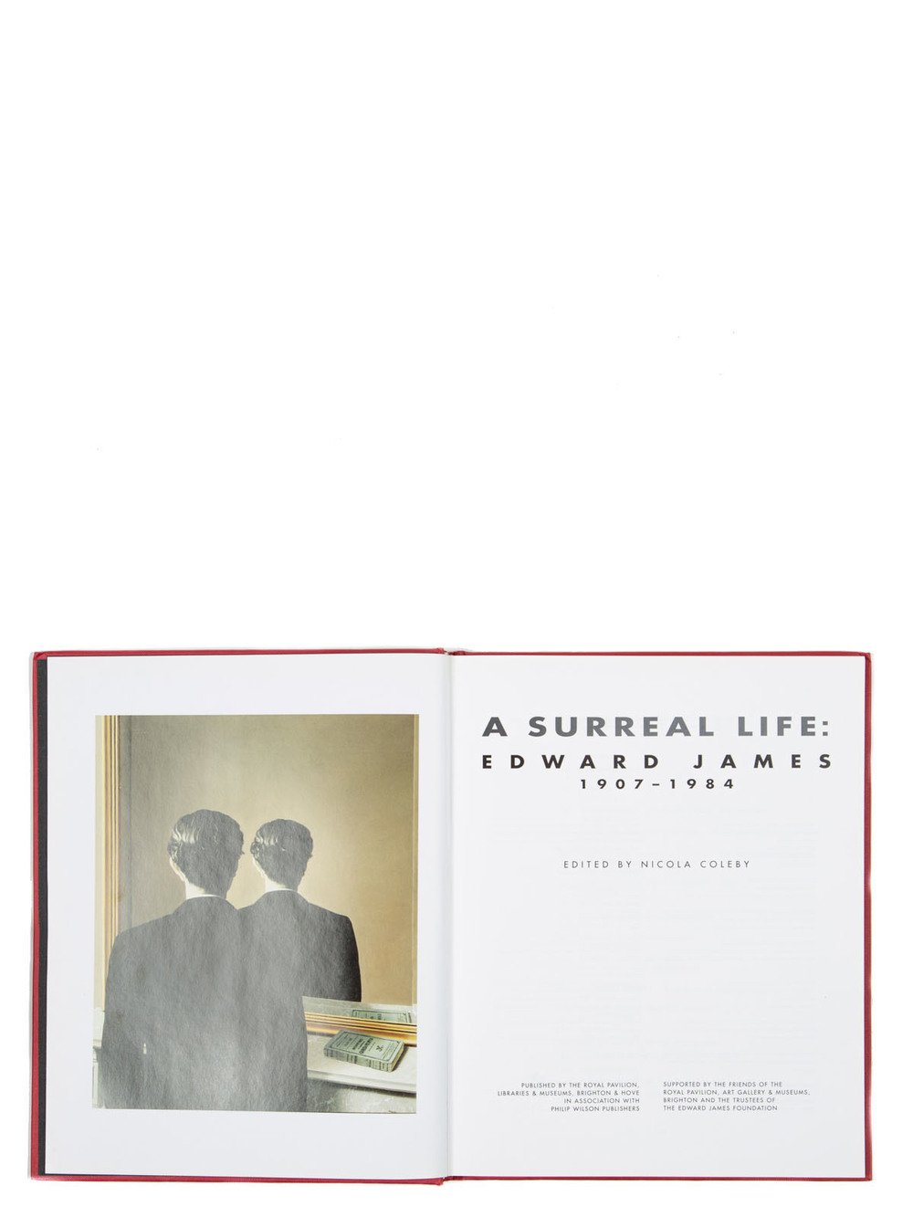 "RICK OWENS - ""A SURREAL LIFE: EDWARD JAMES"" EDITED BY NICOLA COLEBY"