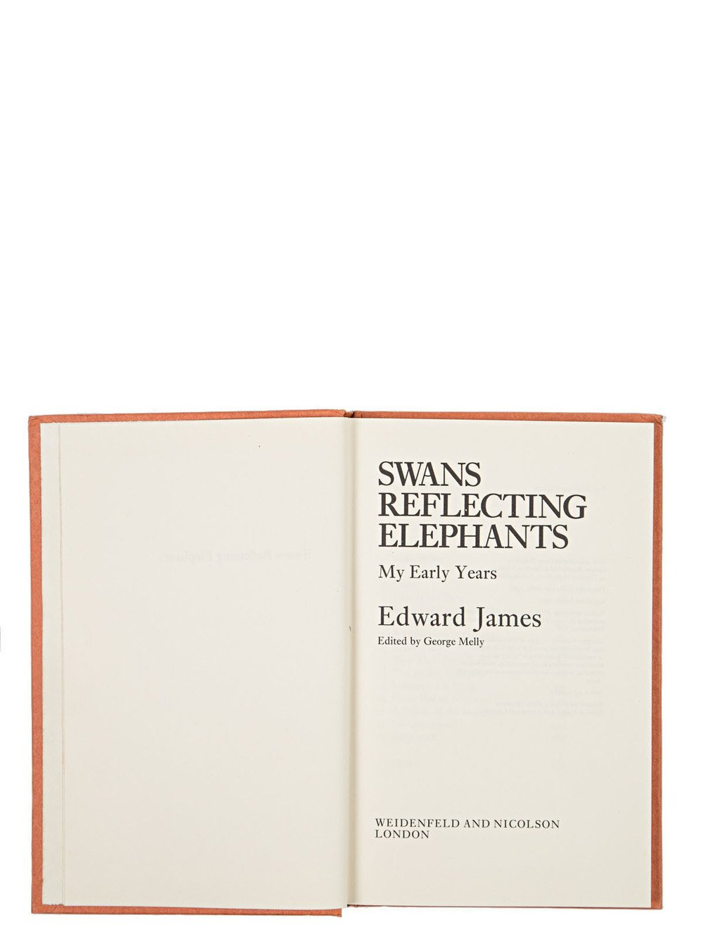 "RICK OWENS - ""SWANS REFLECTING ELEPHANTS: MY EARLY YEARS"" BY EDWARD JAMES"