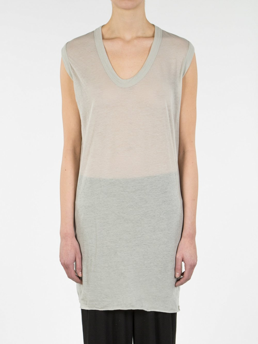 RICK OWENS - SLEEVELESS TEE