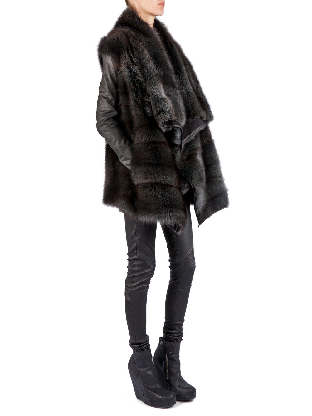 RICK OWENS HUN - LONG JACKET