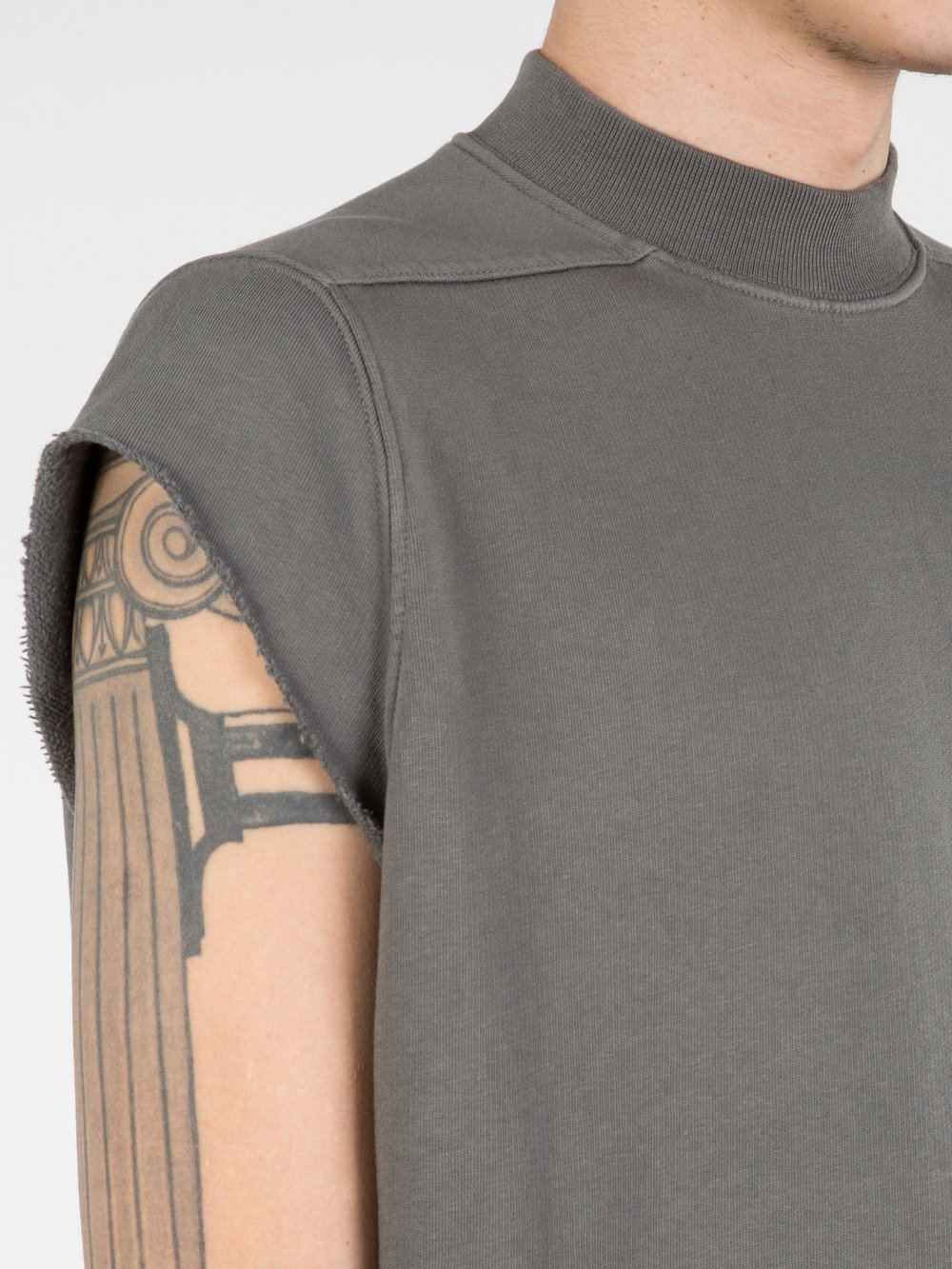 RICK OWENS DRKSHDW - SLEEVELESS JUMBO TOP